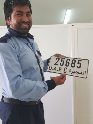 z with new lisence plate