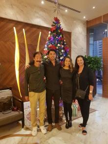 christmas tree in dubai all 4 of us