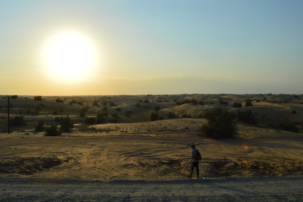isaiah sunset at safari